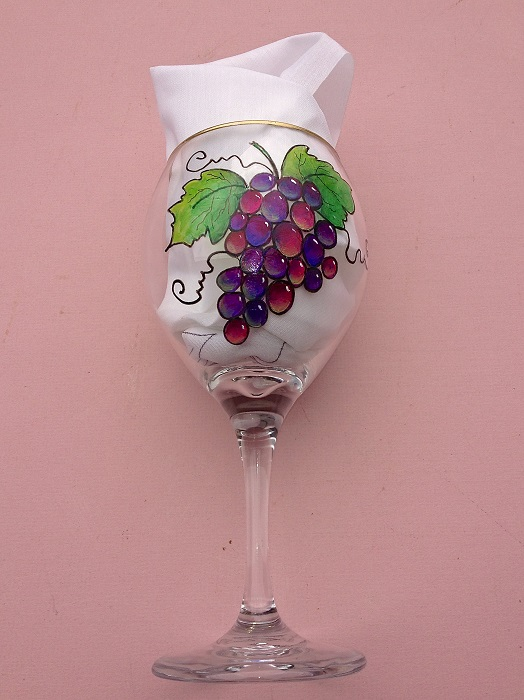 Wine Glass Painting Stencils